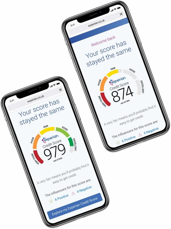 credit score phones